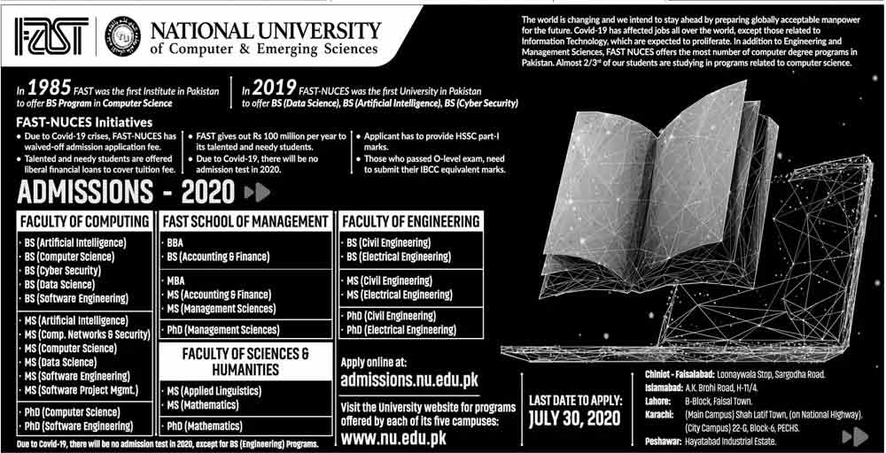 FAST-University-Admission-2020