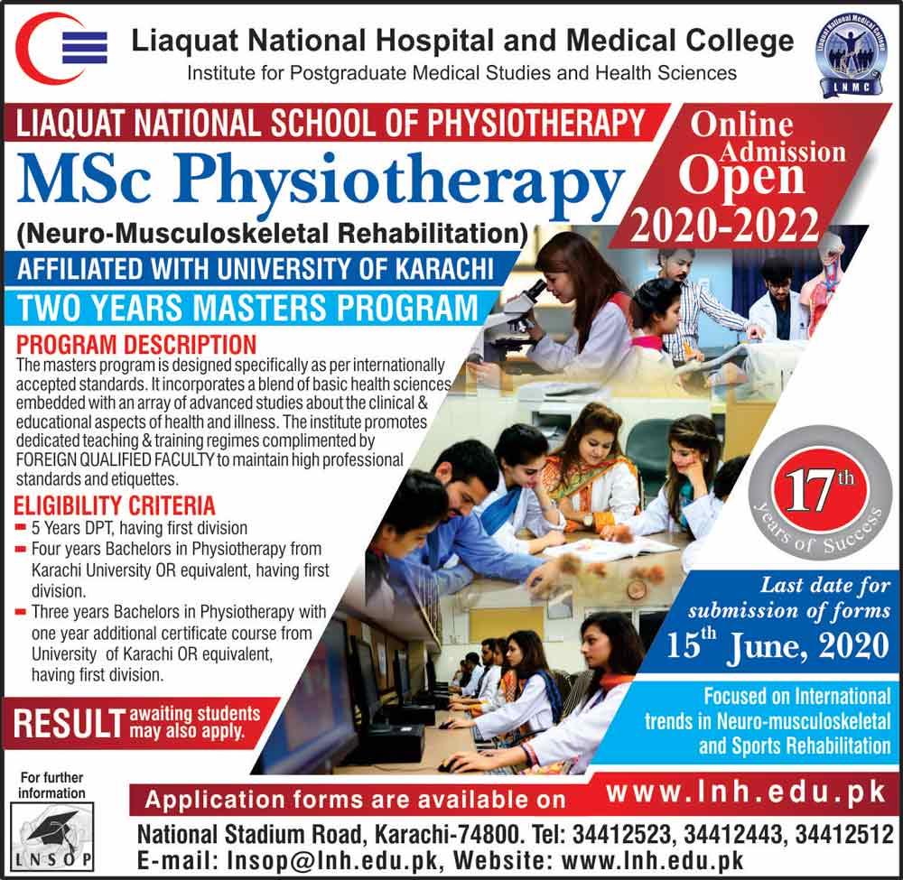 Liaquat-national-hospital-MSC-Admission