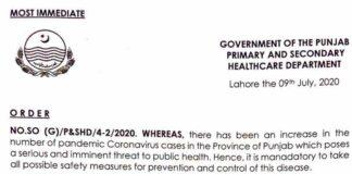 government-of-Punjab-lock-down-notification