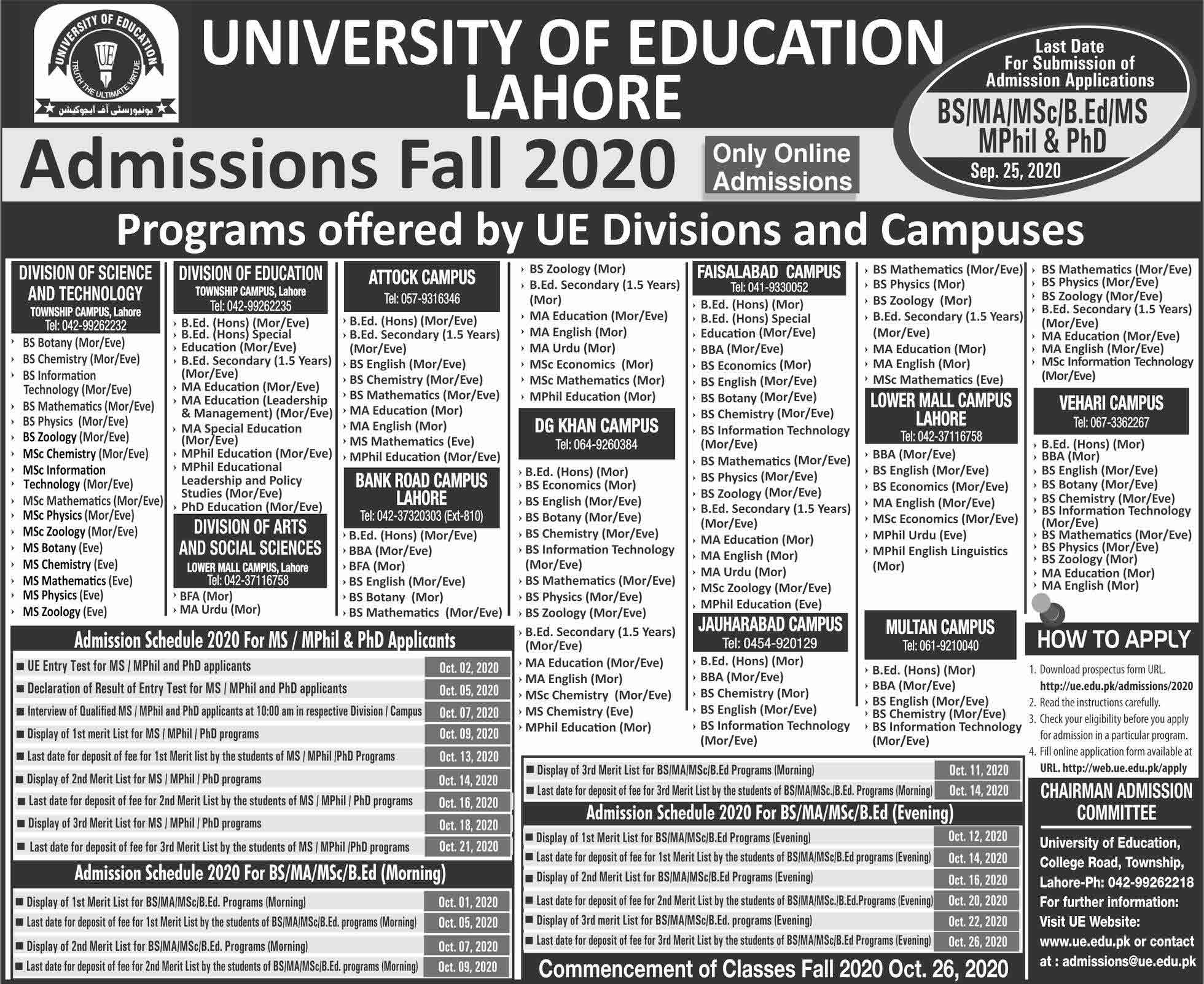 University-of-Education-Admissions-2020