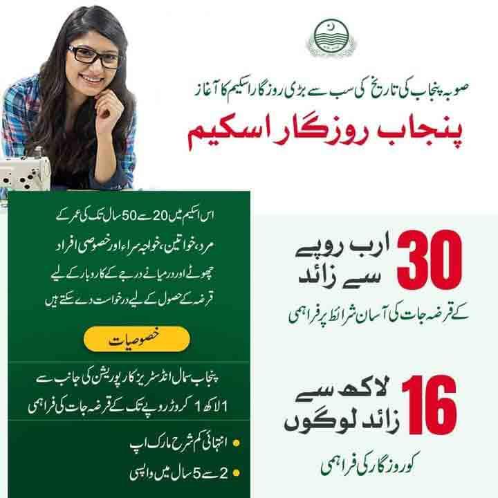 Punjab-Rozgar-Scheme-2020-Apply-Online