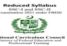 Fbise-Syllabus-Annual-Exam-2021