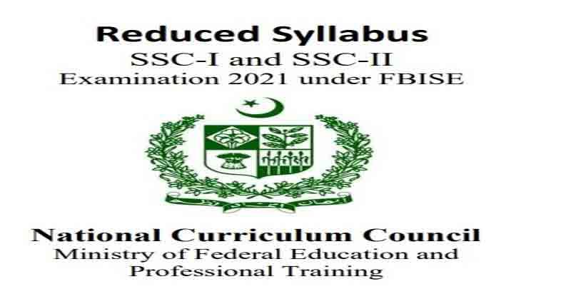 Fbise-Syllabus-Annual-Exam-2021
