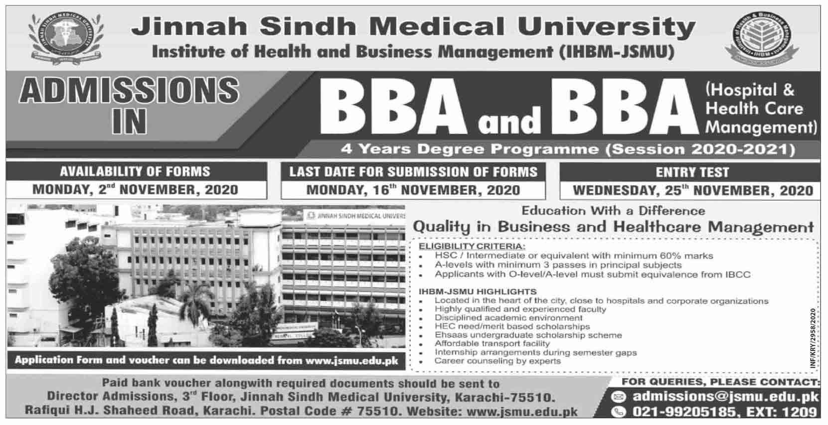 Jinnah-Sindh-Medical-University-Admission-2020