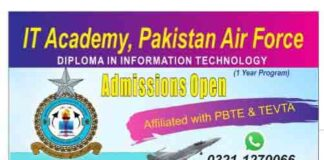 PAF-Lahore-Admission