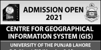 GIS-Punjab-University-BS-BSC-Admission-2021-Merit-List