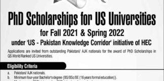 PhD-Scholarships-2021-US-University