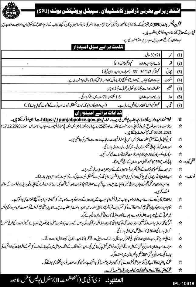 SPU-Punjab-Police-Jobs-2021