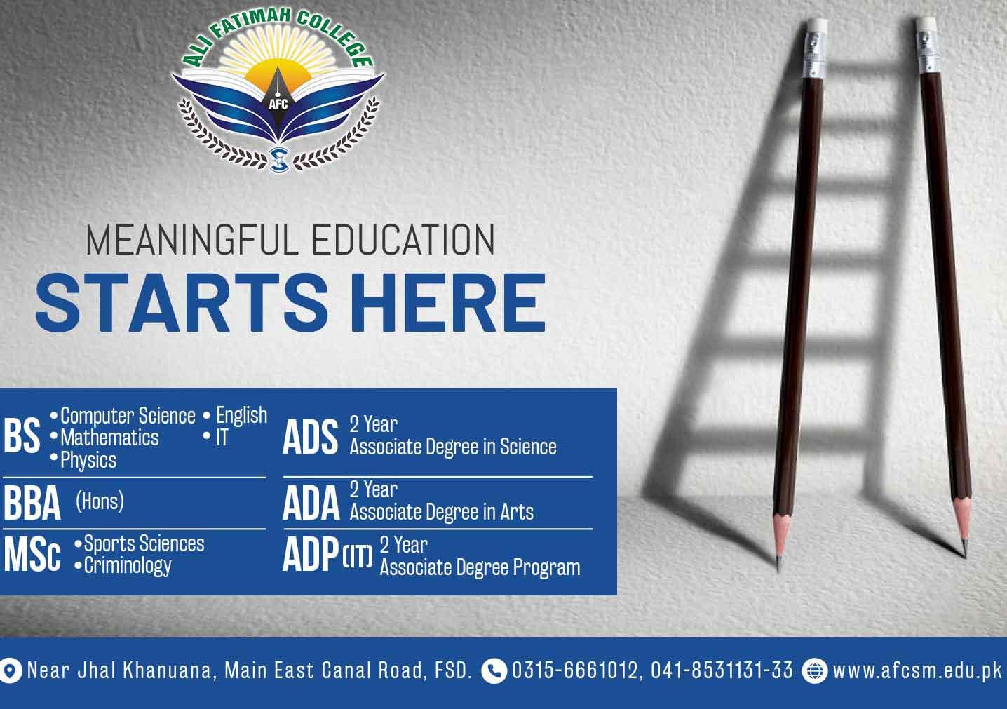 Ali-Fatimah-College-Admission-2021