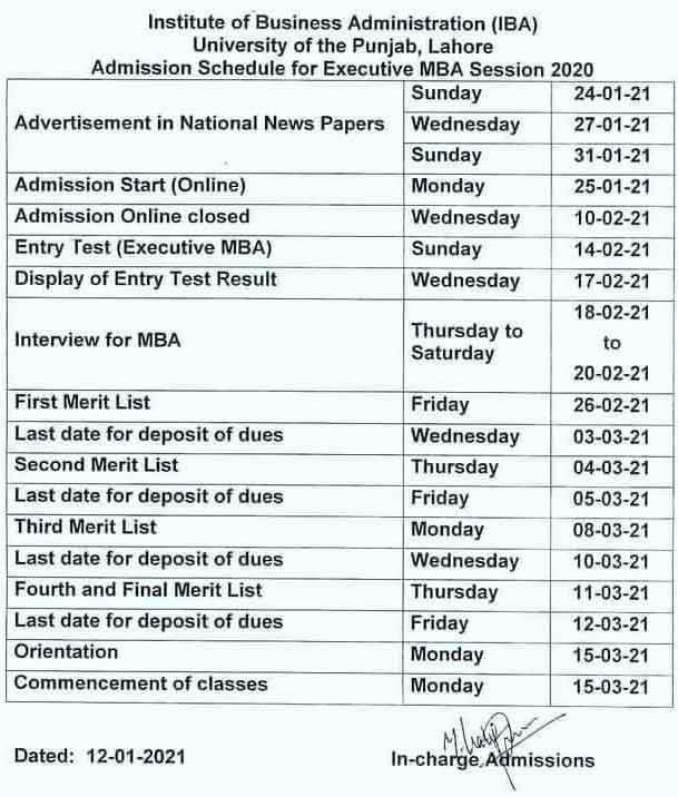 IBA-University-of-Lahore-Admission-2021