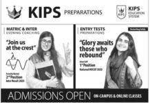 Kips-Entry-Test-2021