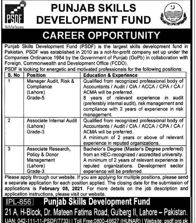 PSDF-Lahore-Jobs-2021
