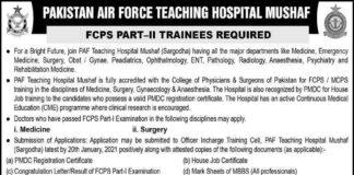 Pakistan-Air-Force-Trainee-Jobs-2021
