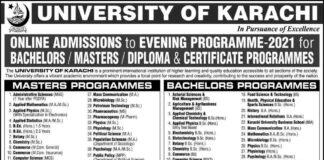 University-of-Karachi-Admission-2021