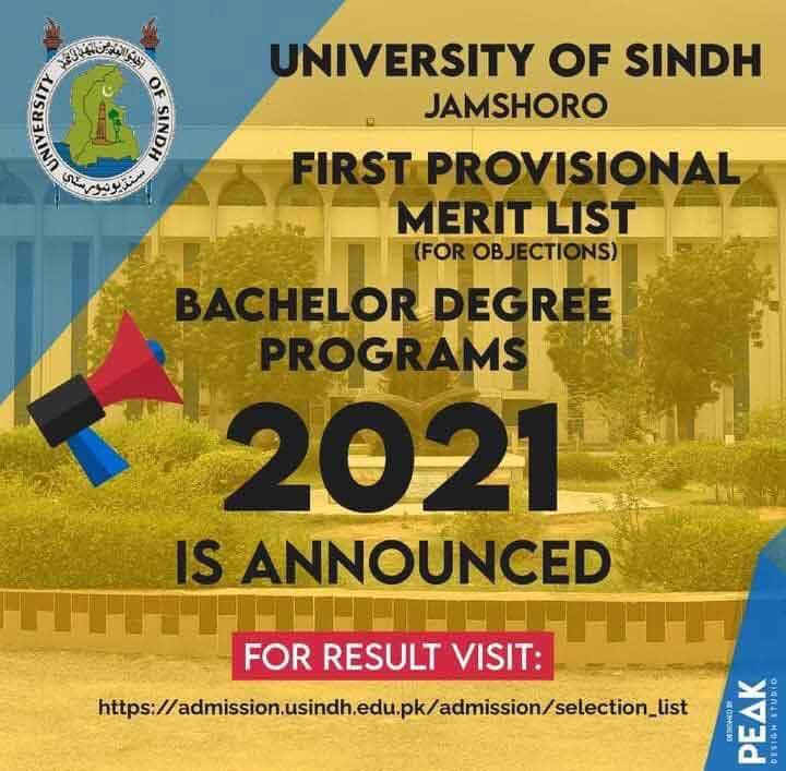 University-of-Sindh-Jamshoro-Merit-List-2021