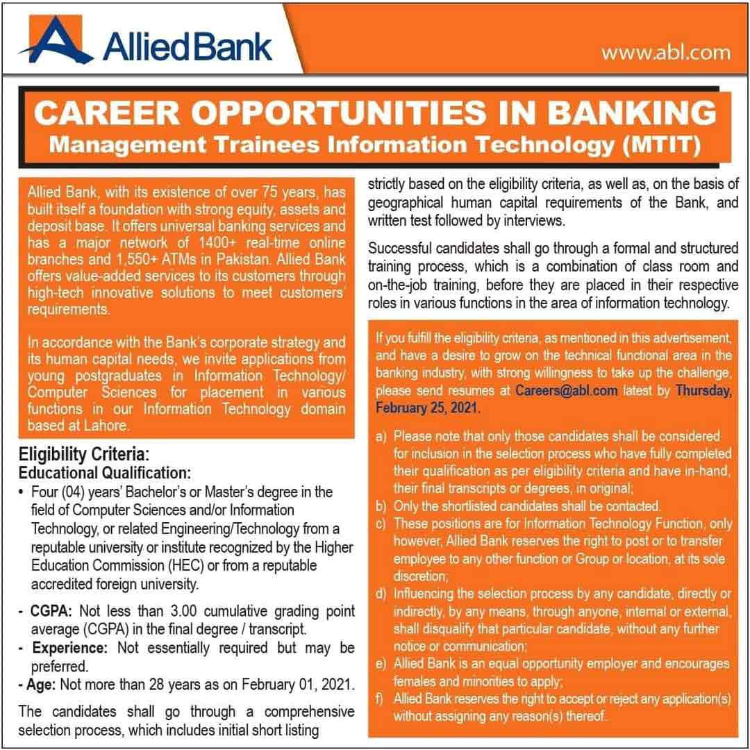 Allied-Bank-Management-Trainee-2021