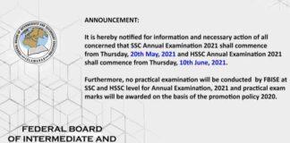 FBISE-Date-Sheet-2021