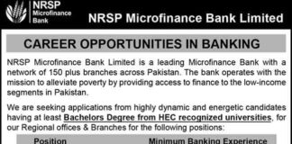 NRSP-Microfinance-Bank-Limited-Jobs-2021