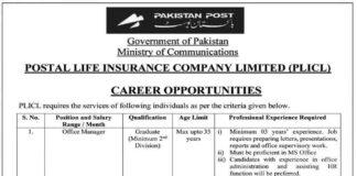 Postal-Life-Insurance-Jobs-2021
