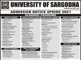 University-of-Sargodha-Admission-Merit-List-2021