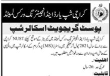 Karachi-Shipyard-MS-Scholarships-2021