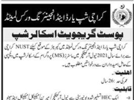 Karachi-Shipyard-MS-Scholarships-2021