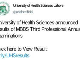 UHS-Lahore-MBBS-Result-2021