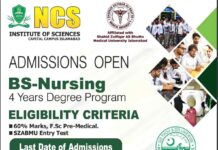 BS-Nursing-Admission-2021-NCS-Islamabad