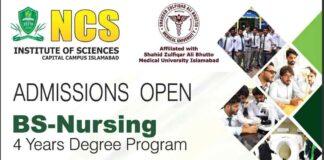 BS-Nursing-Admission-2021-NCS-Islamabad