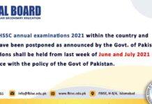 FBISE-SSC-HSSC-Exam-Date-Sheet-2021