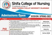 Shifa-College-of-Nursing-Admissions-2021