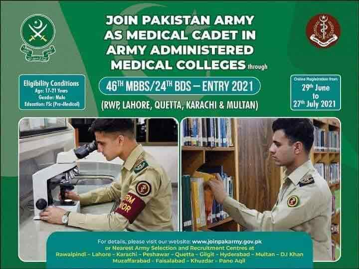 Join-Pak-Army-as-Medical-Cadet-2021