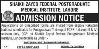 Sheikh-Zayed-Federal-Postgraduate-Medical-Institute-2021