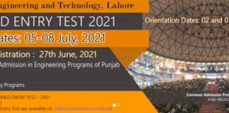 UET-Lahore-Entry-Test-2021-Date