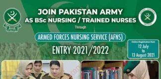 AFNS-Pak-Army-Nursing-Jobs-2021
