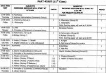BISE-DG-Khan-11th-Class-Date-Sheet-2021