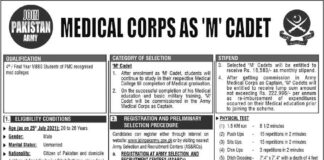 Jobs-Join-Pak-Army-as-Medical-Cadet-2021