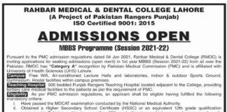 Rahbar-Medical-&-Dental-College-Admission-2021